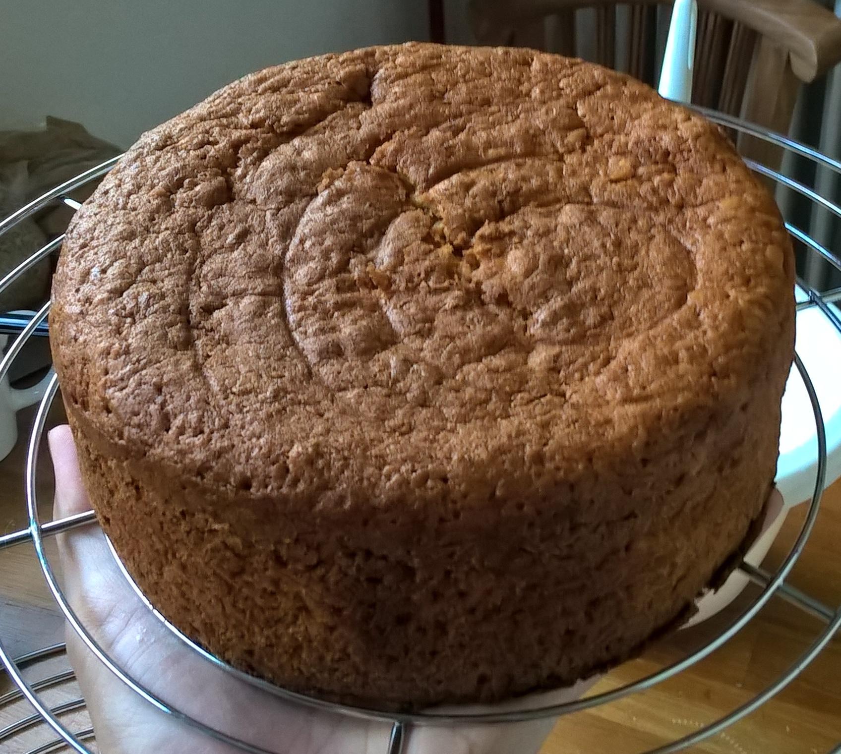 Einfacher Möhrenkuchen