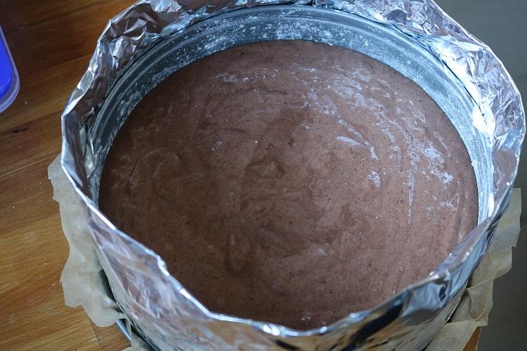 Kuchen mit der Isoliermethode backen