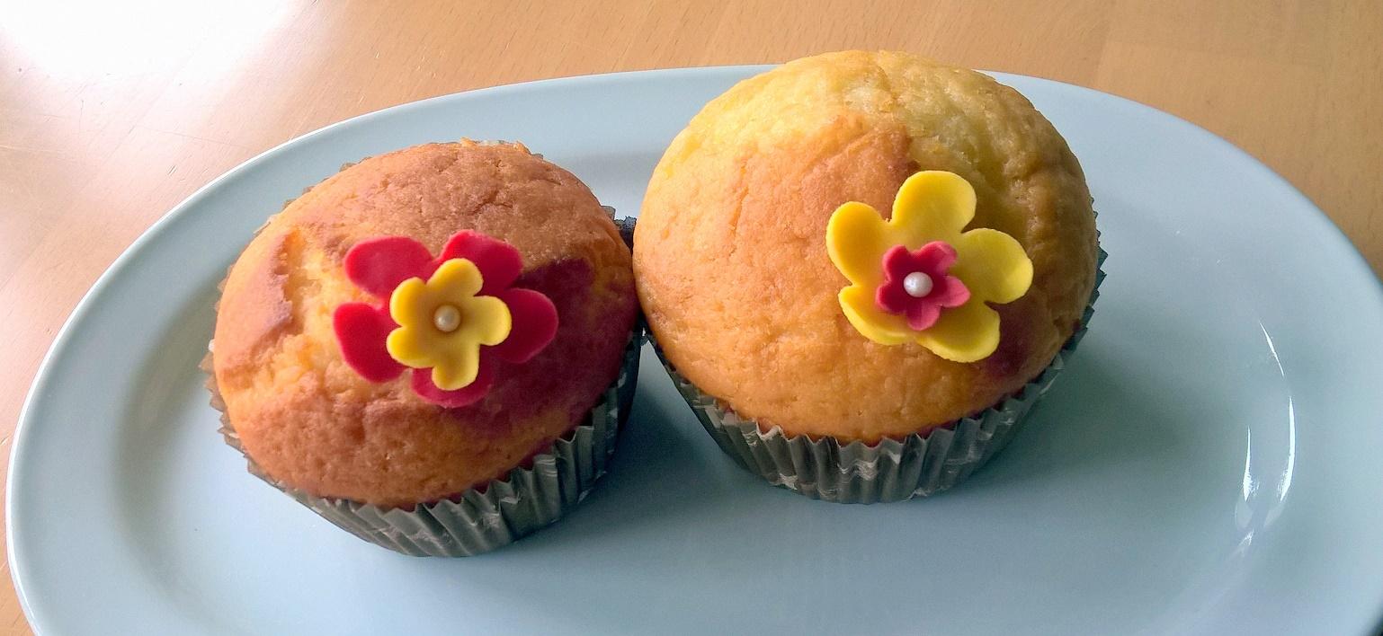 Sommerliche Zitronen-Muffins