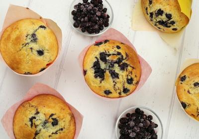 Jumbo Heidelbeer-Muffins
